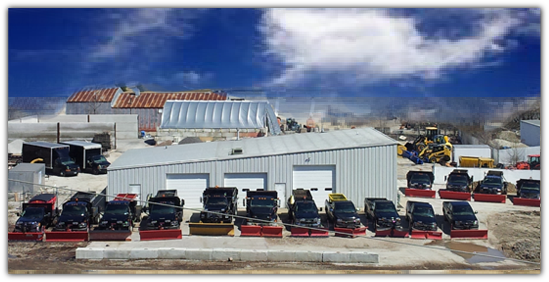 Snow removal snow plowing waukesha wi for Commercial landscaping companies